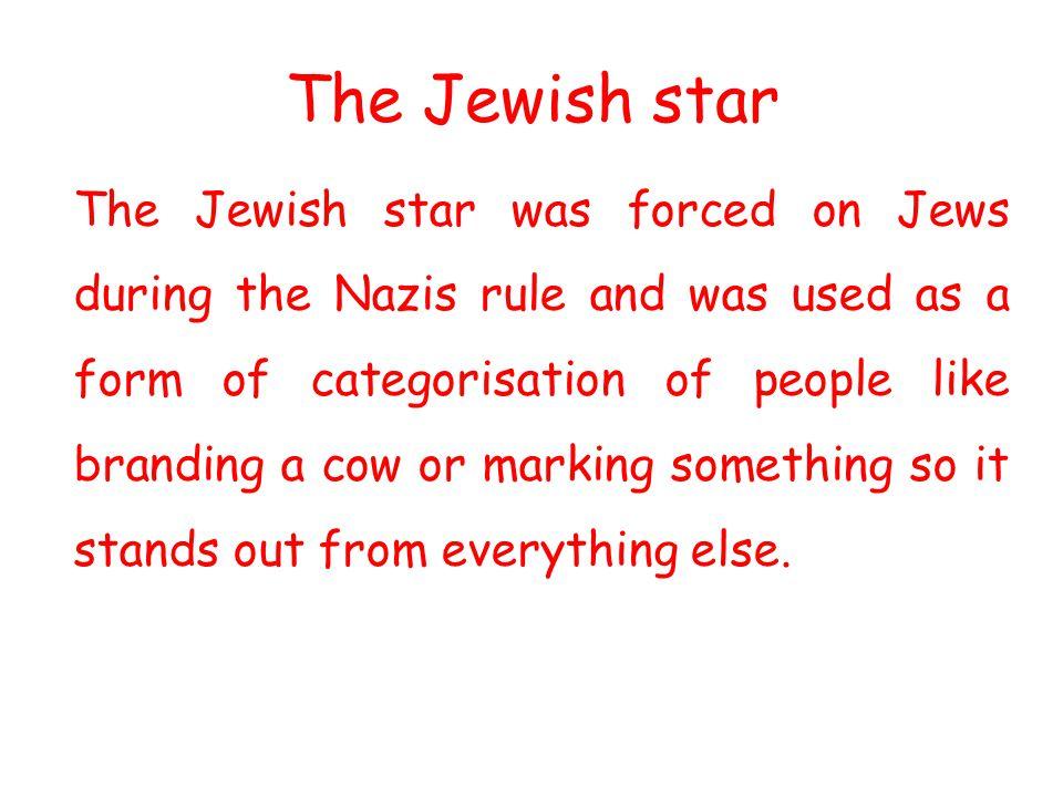 The Jewish star
