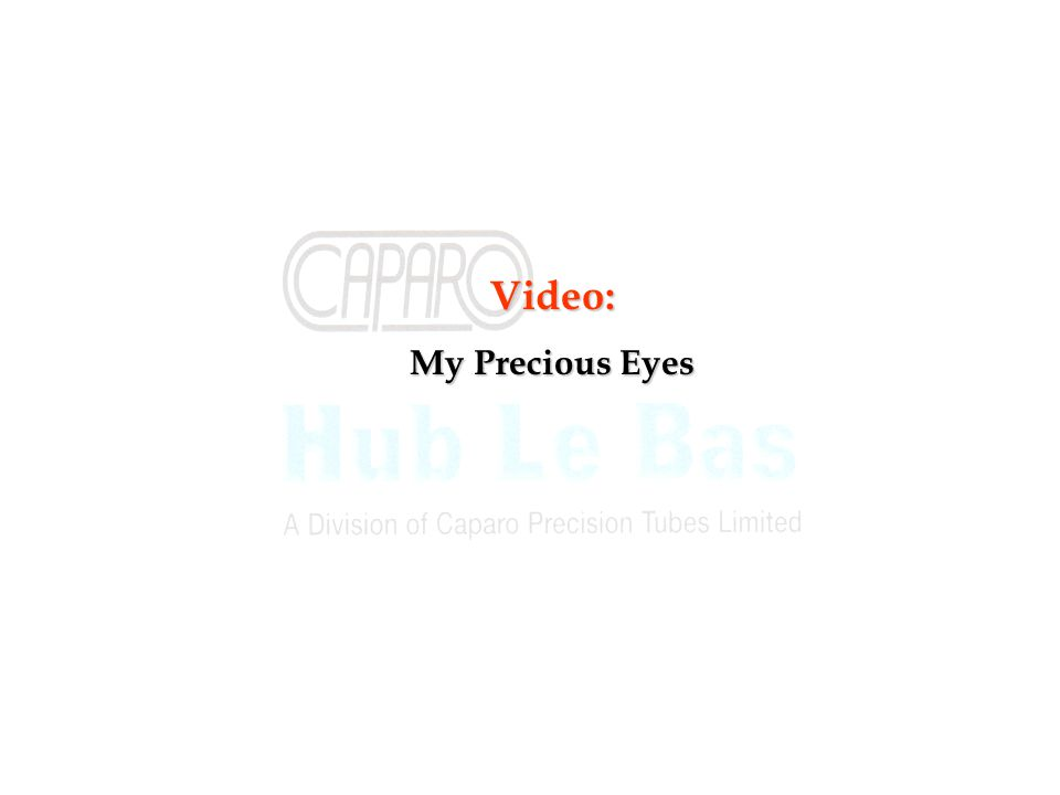 Video: My Precious Eyes