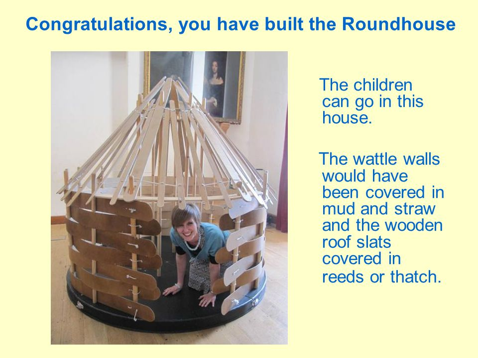 Congratulations, you have built the Roundhouse
