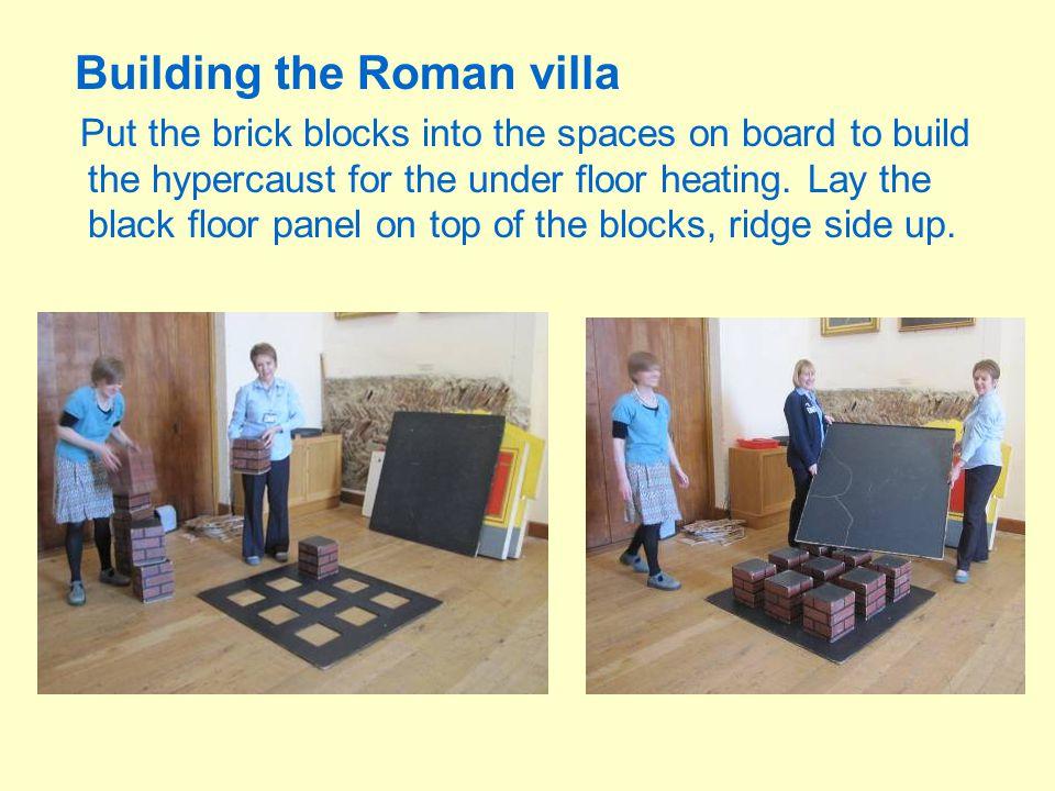 Building the Roman villa