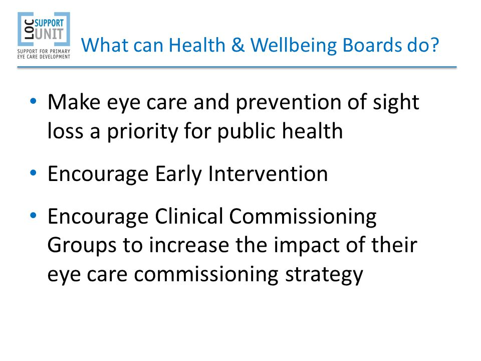 What can Health & Wellbeing Boards do
