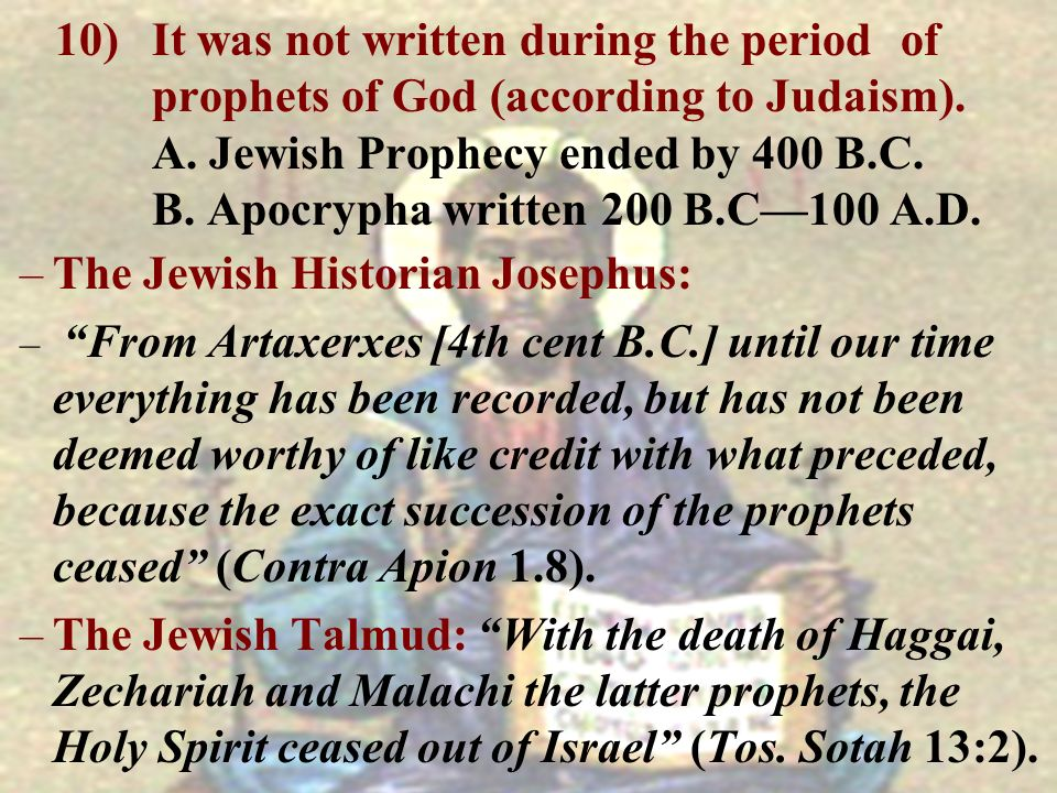 The Jewish Historian Josephus:
