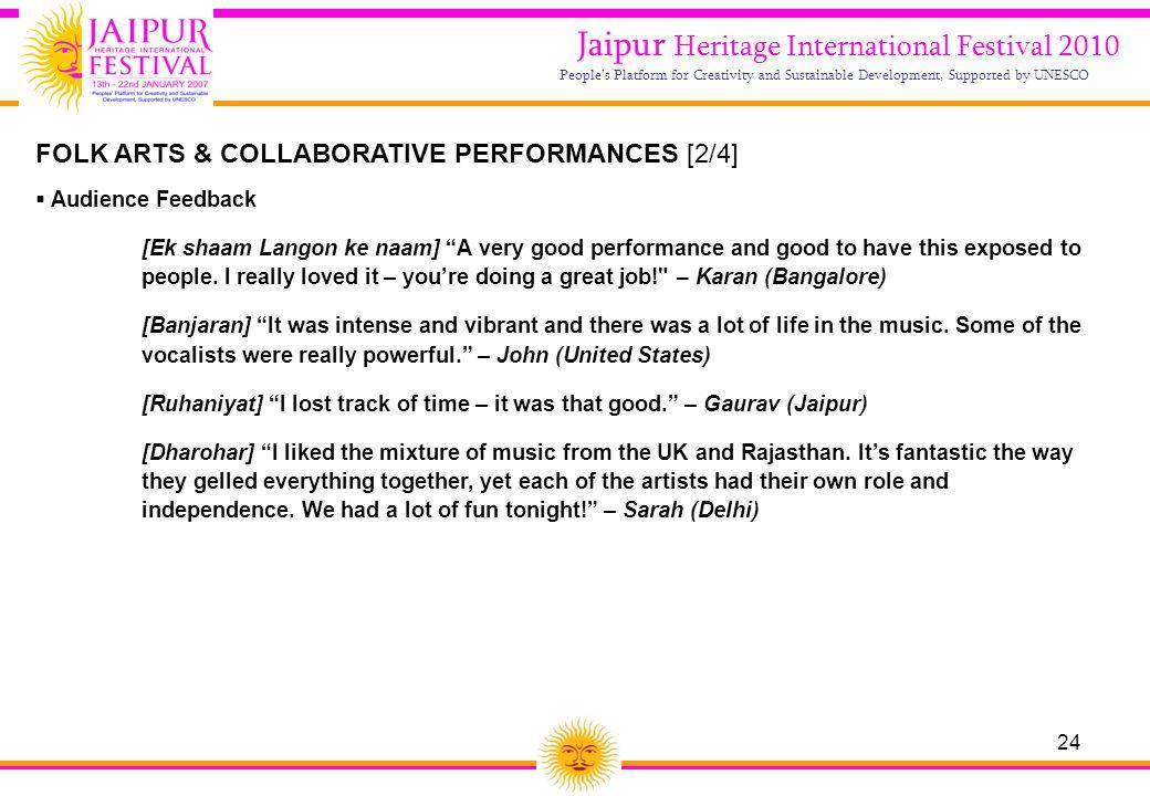 Jaipur Heritage International Festival 2010