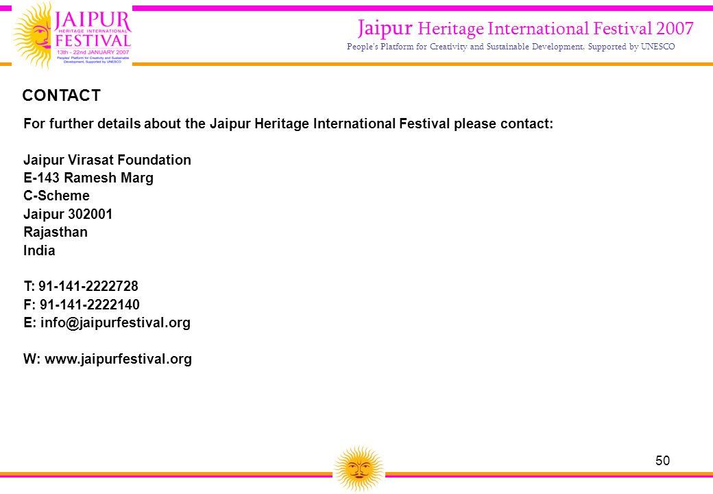 Jaipur Heritage International Festival 2007