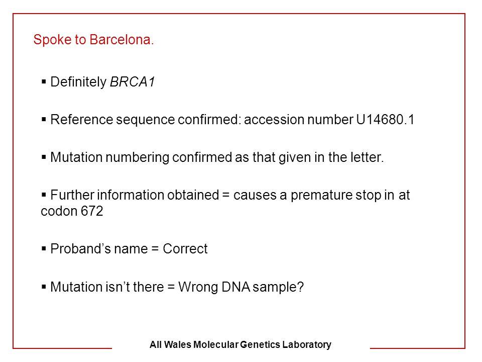 All Wales Molecular Genetics Laboratory
