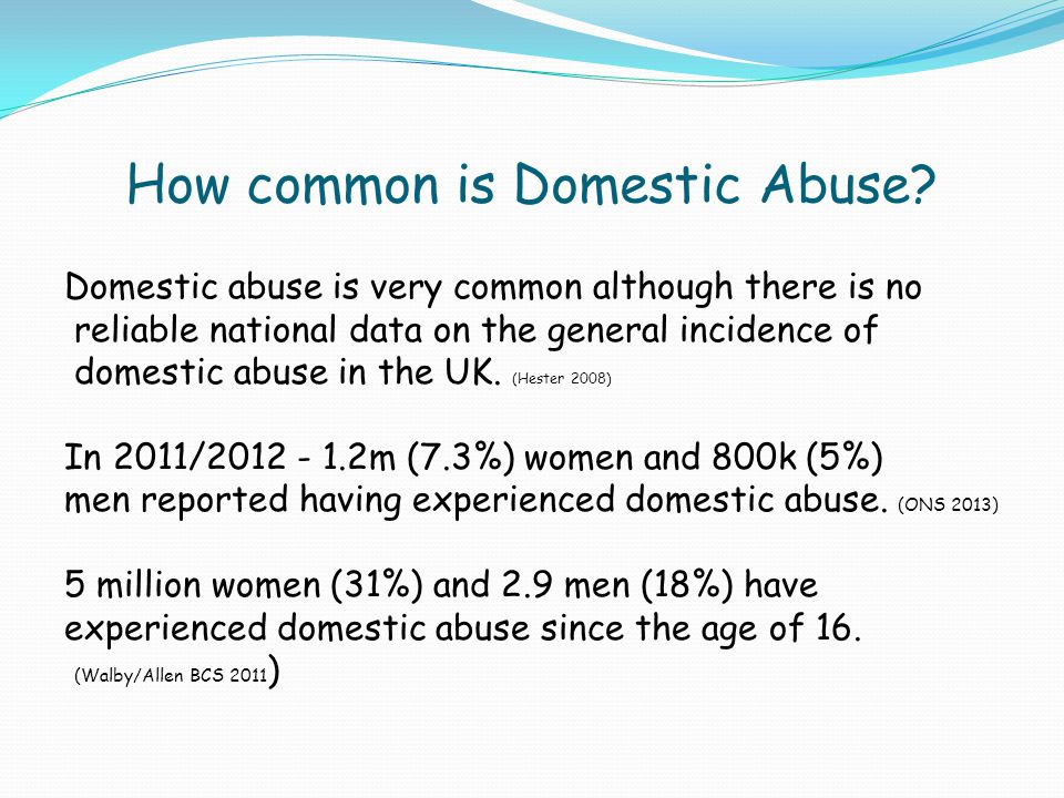 How common is Domestic Abuse
