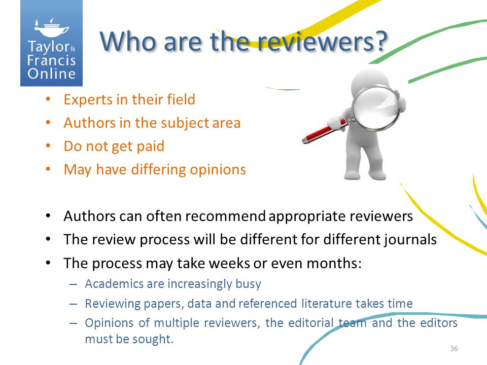 Who are the reviewers Experts in their field