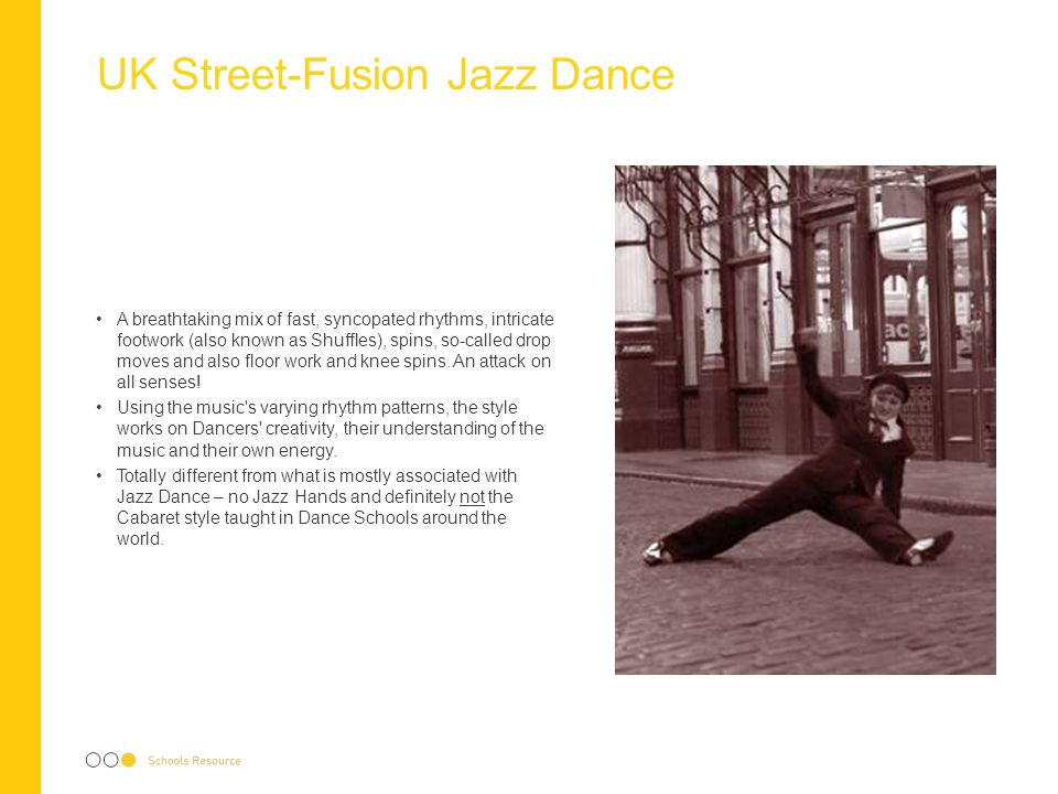 UK Street-Fusion Jazz Dance