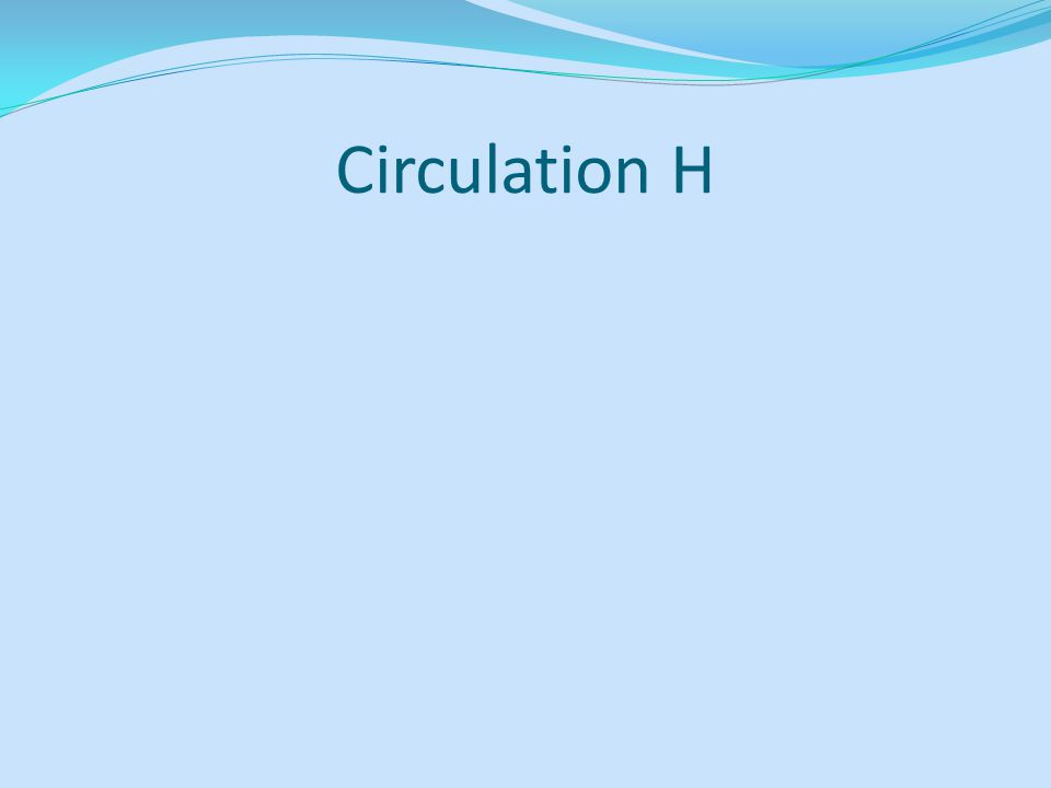 Circulation H