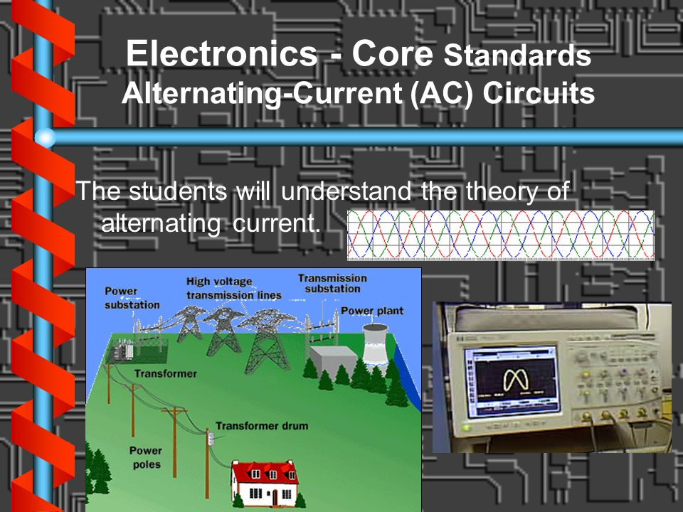 Electronics - Core Standards Alternating-Current (AC) Circuits