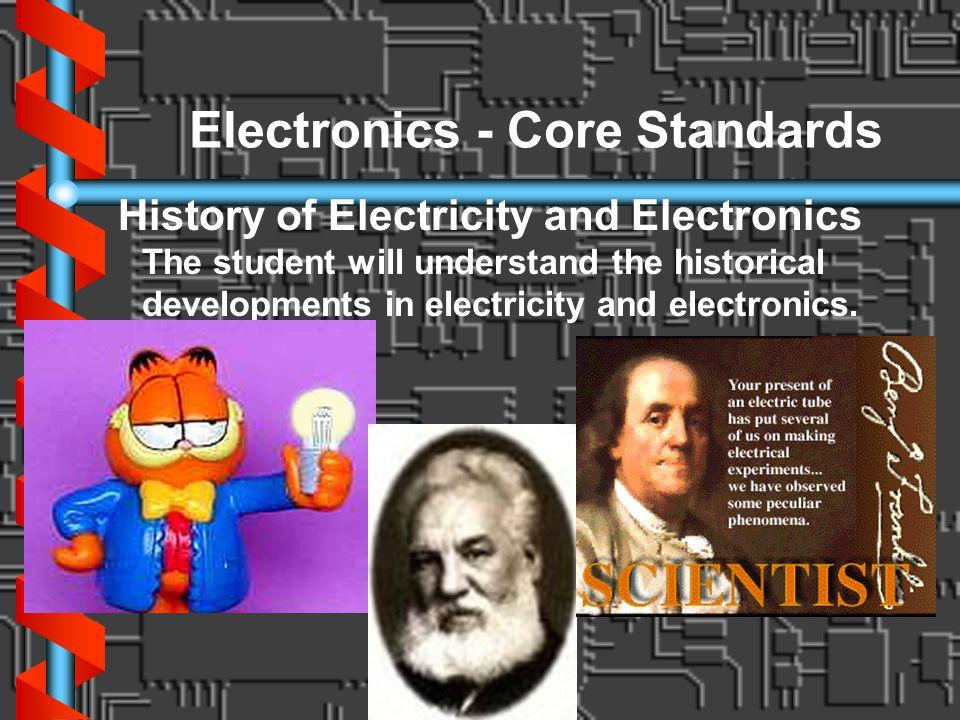 Electronics - Core Standards
