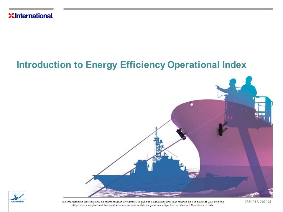 Introduction to Energy Efficiency Operational Index