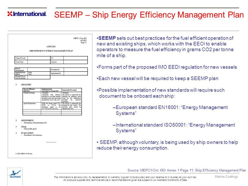 SEEMP – Ship Energy Efficiency Management Plan