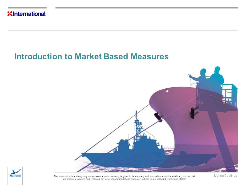 Introduction to Market Based Measures