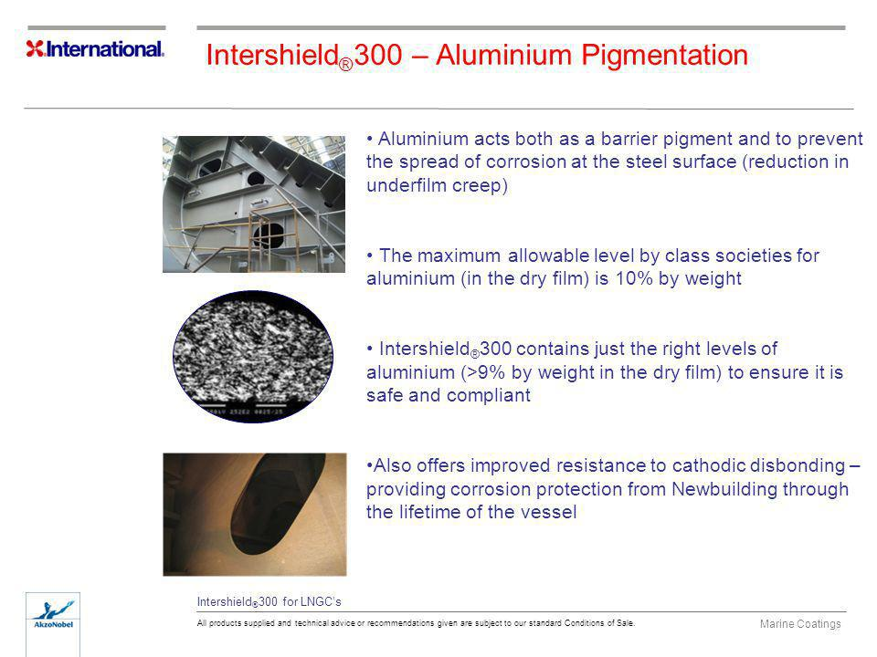 Intershield®300 – Aluminium Pigmentation