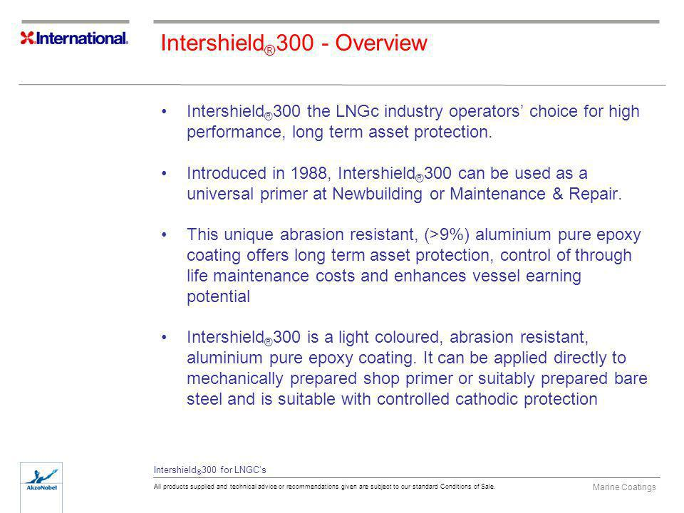 Intershield®300 - Overview