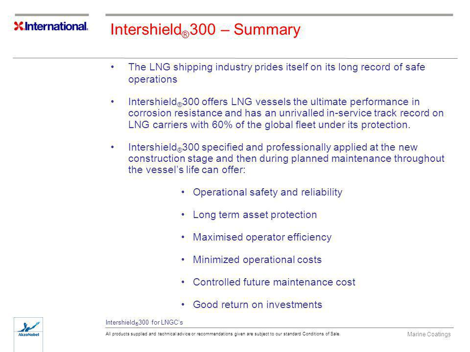Intershield®300 – Summary