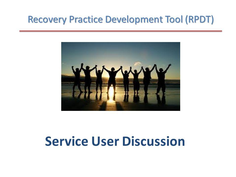 Service User Discussion