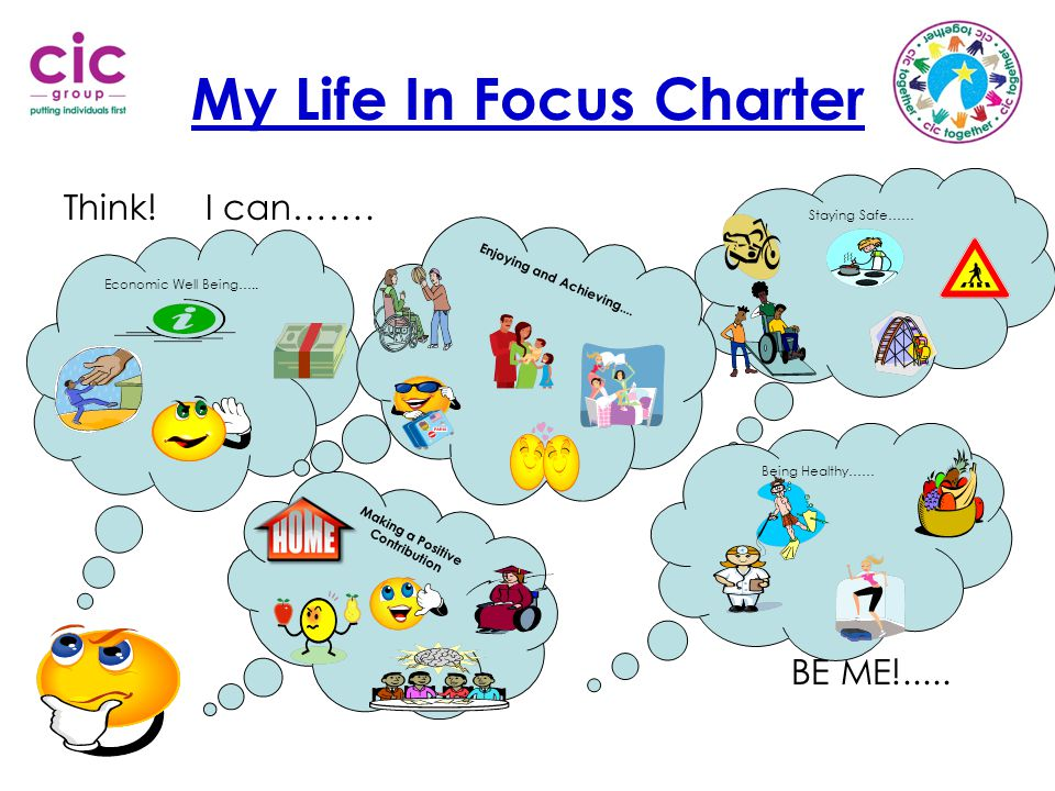 My Life In Focus Charter