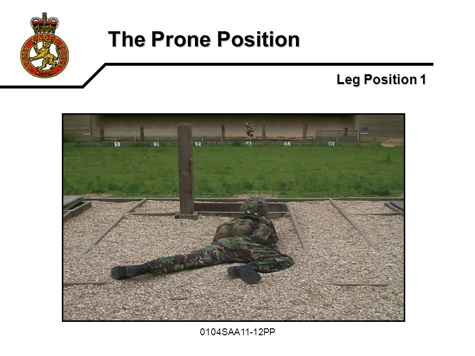 The Prone Position Leg Position 1 0104SAA11-12PP