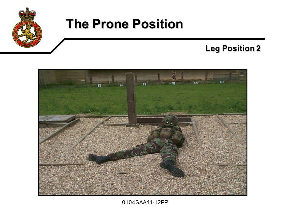 The Prone Position Leg Position 2 0104SAA11-12PP