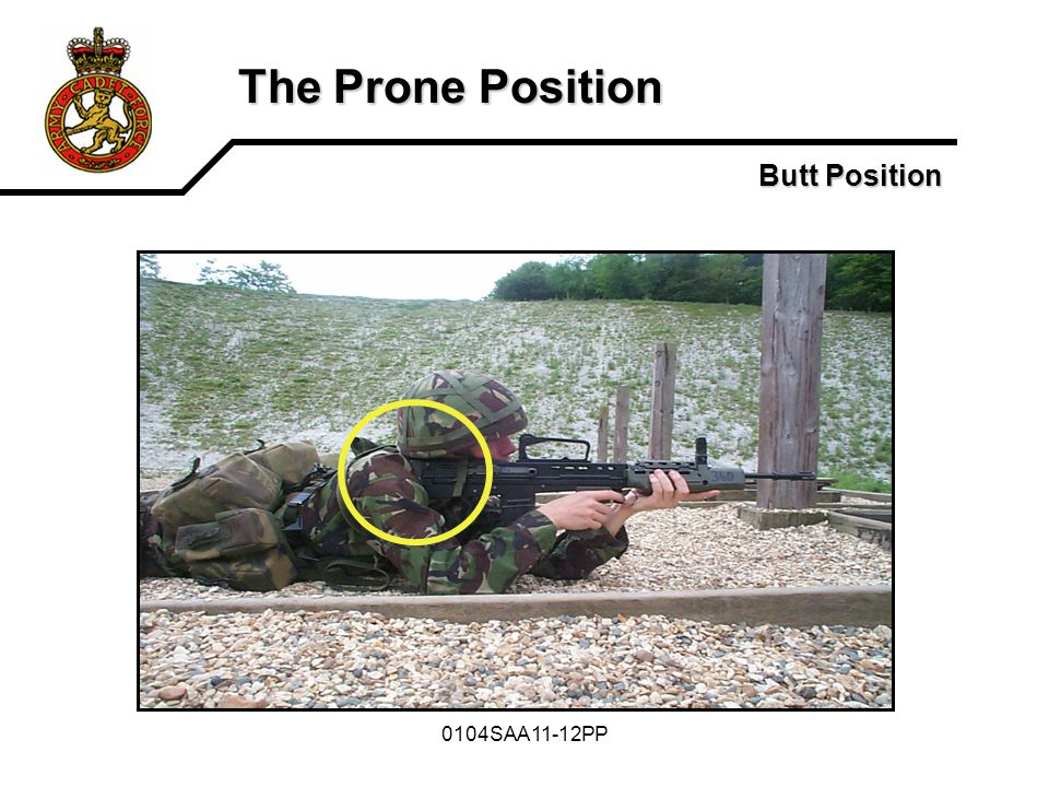 The Prone Position Butt Position 0104SAA11-12PP