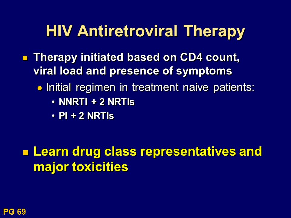 HIV Antiretroviral Therapy