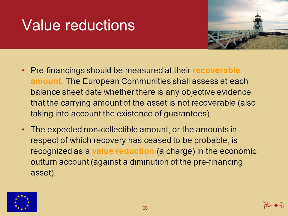 Value reductions