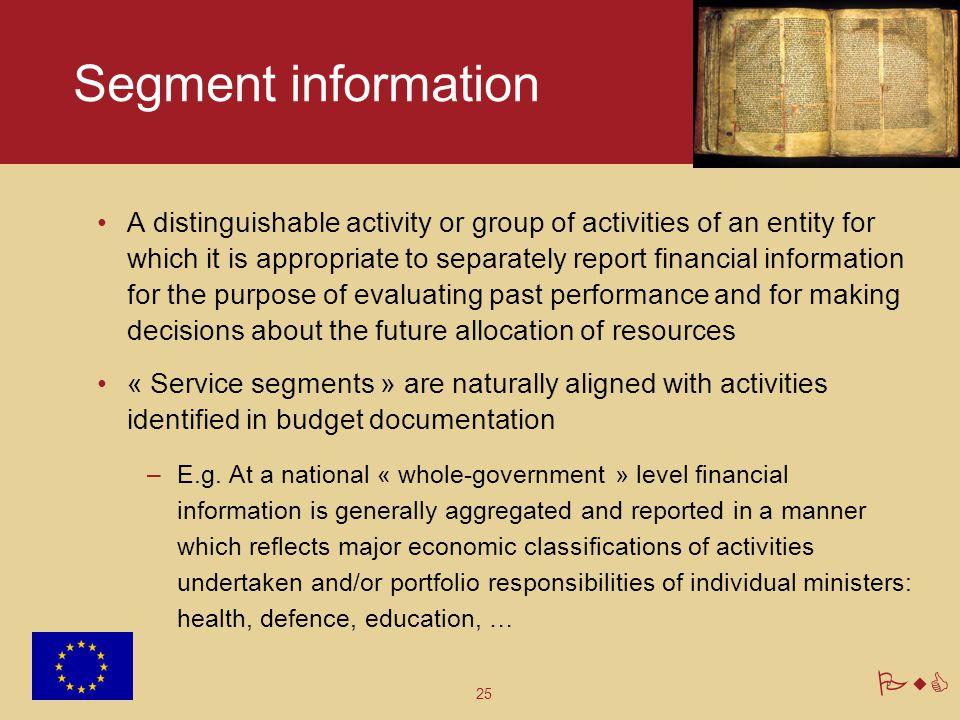Segment information