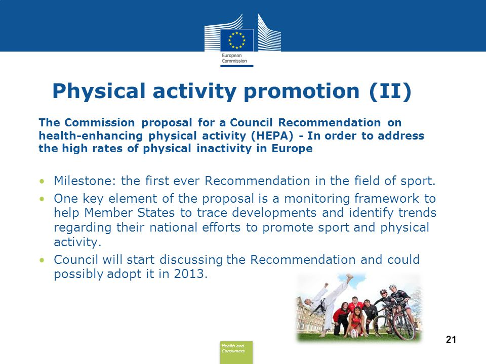 Physical activity promotion (II)
