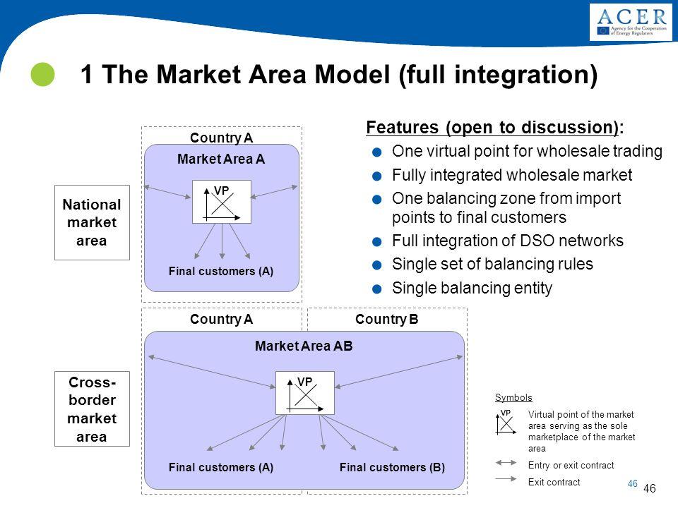 1 The Market Area Model (full integration)