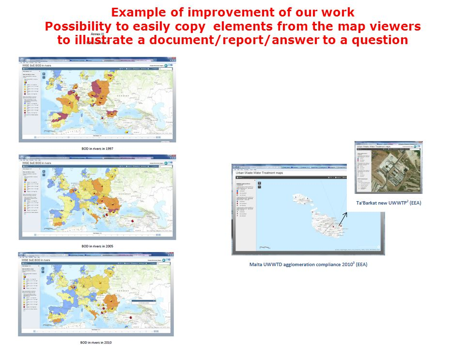 Example of improvement of our work