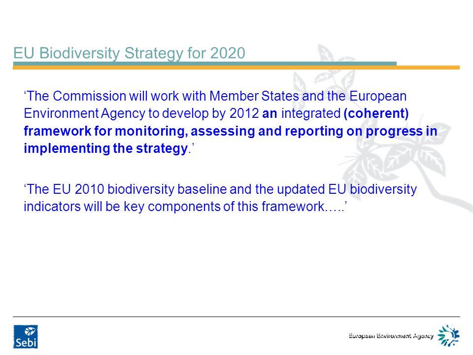 EU Biodiversity Strategy for 2020