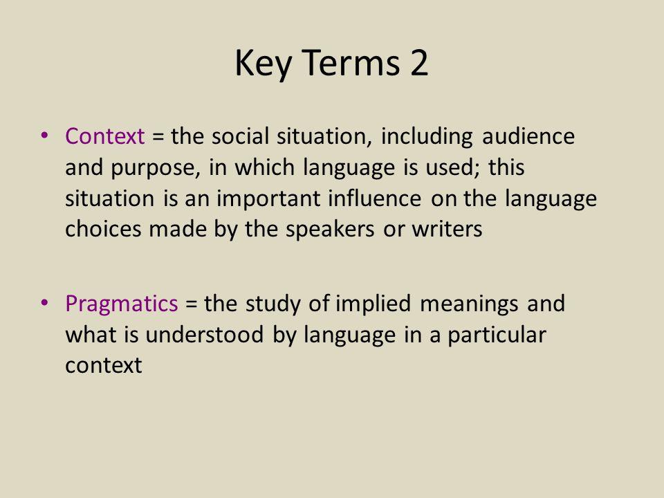 Key Terms 2