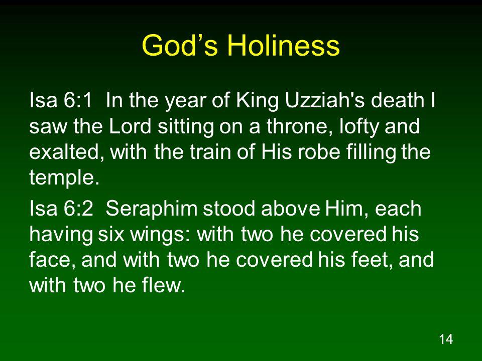 God's Holiness