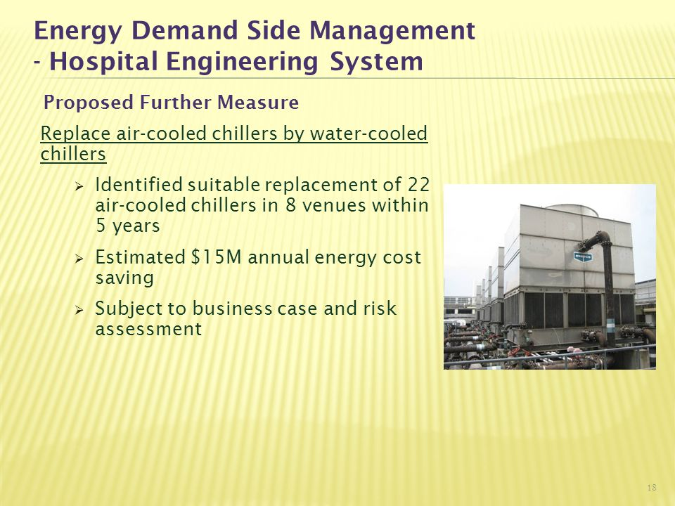 Energy Demand Side Management - Hospital Engineering System