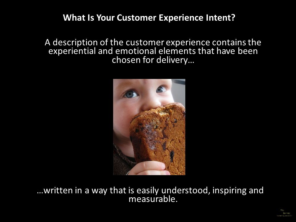 What Is Your Customer Experience Intent