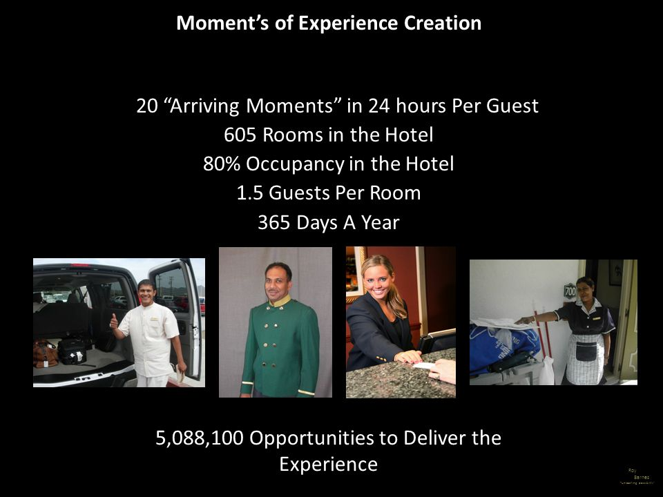 Moment's of Experience Creation