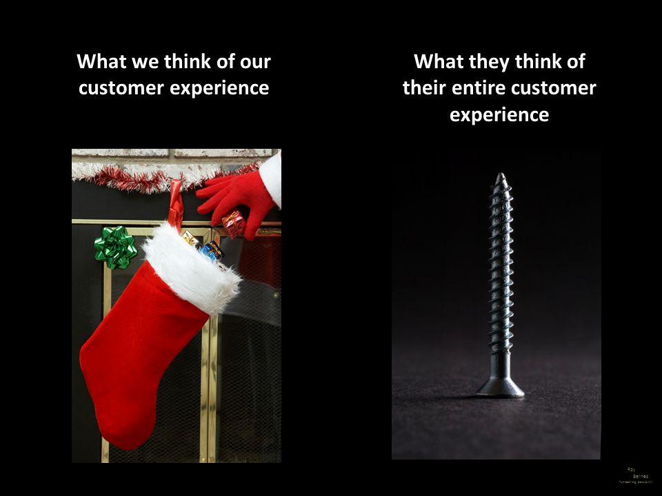 What we think of our customer experience