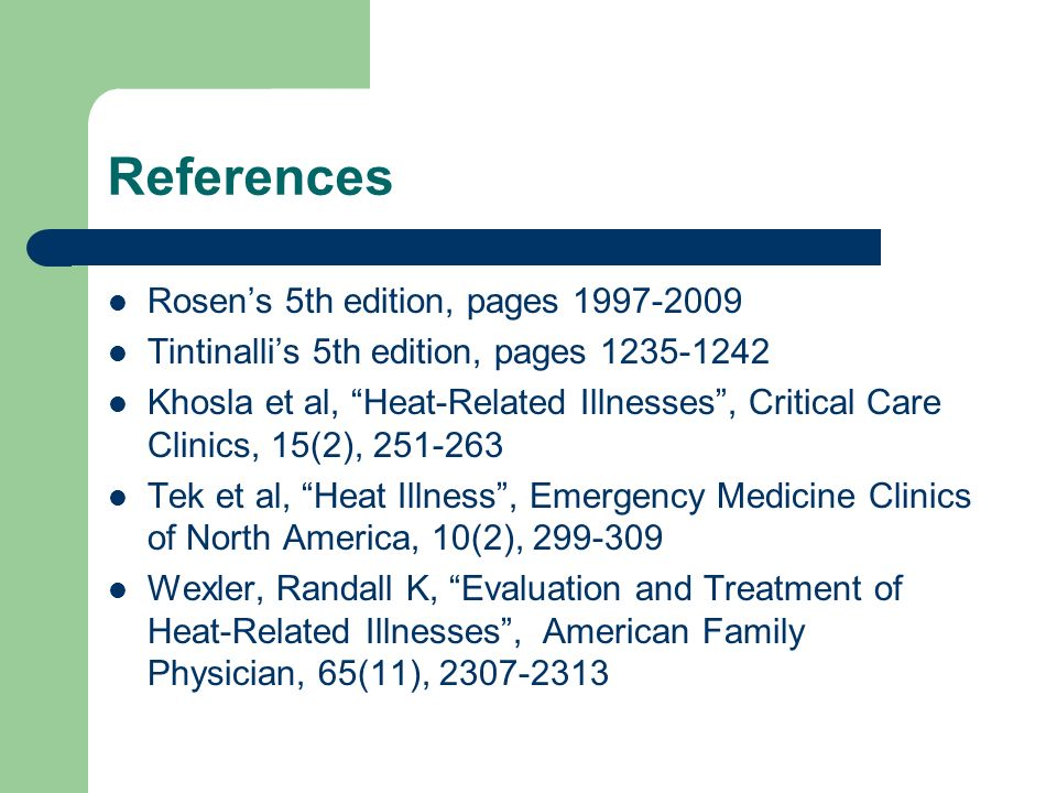 References Rosen's 5th edition, pages 1997-2009