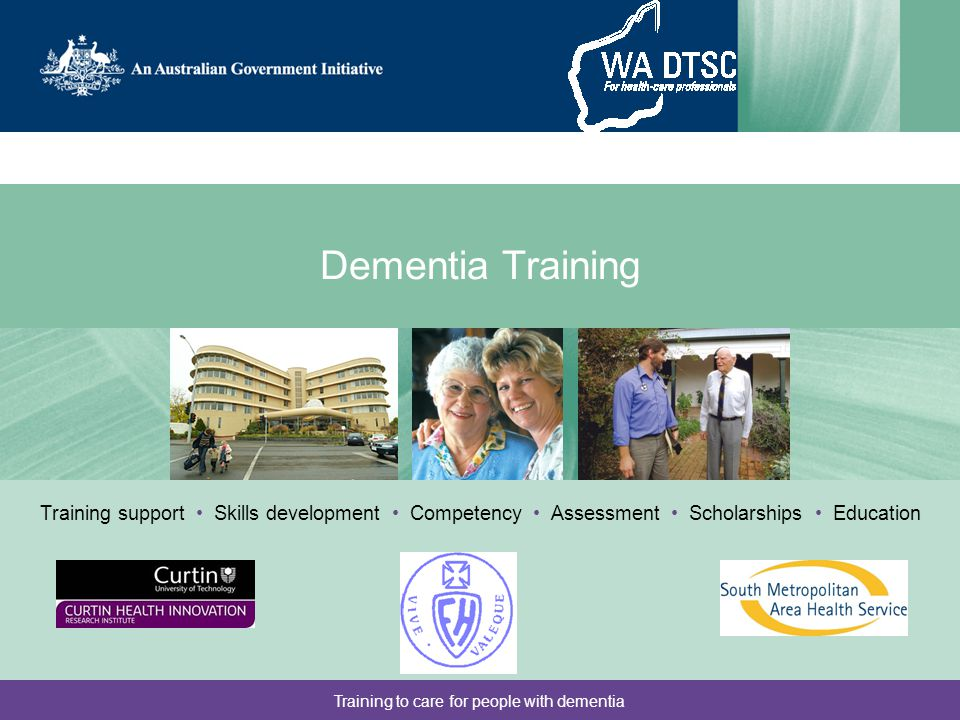 Training to care for people with dementia