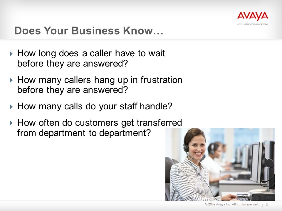Does Your Business Know…
