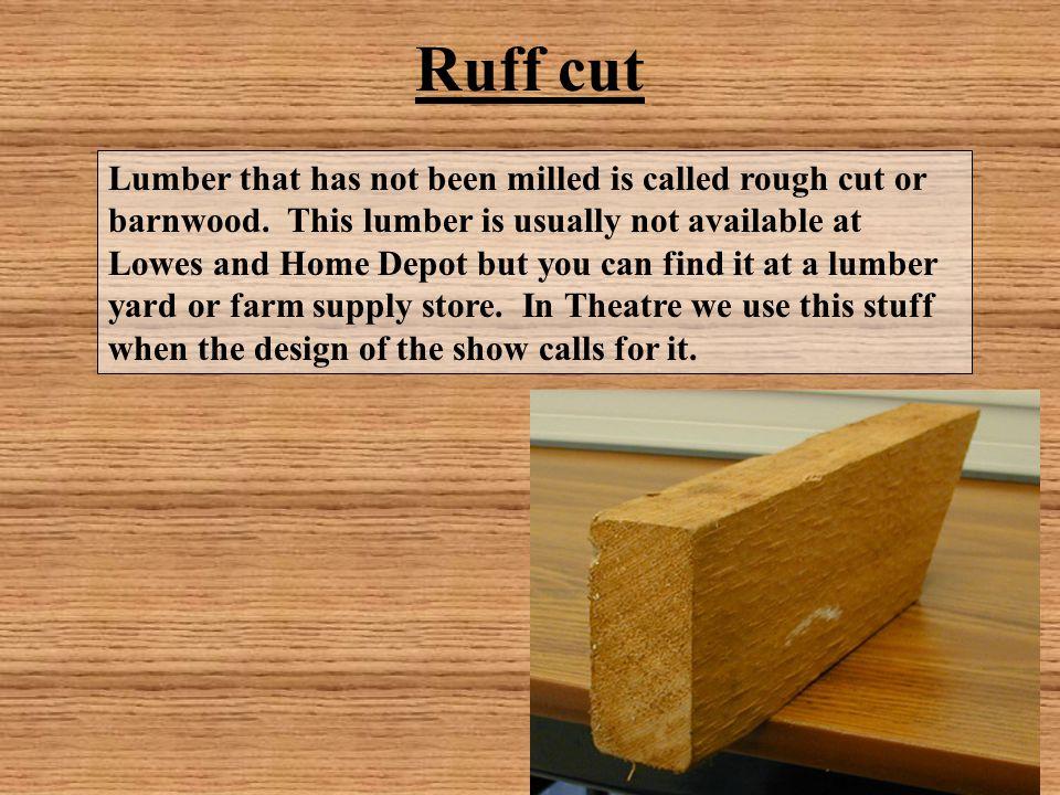Ruff cut