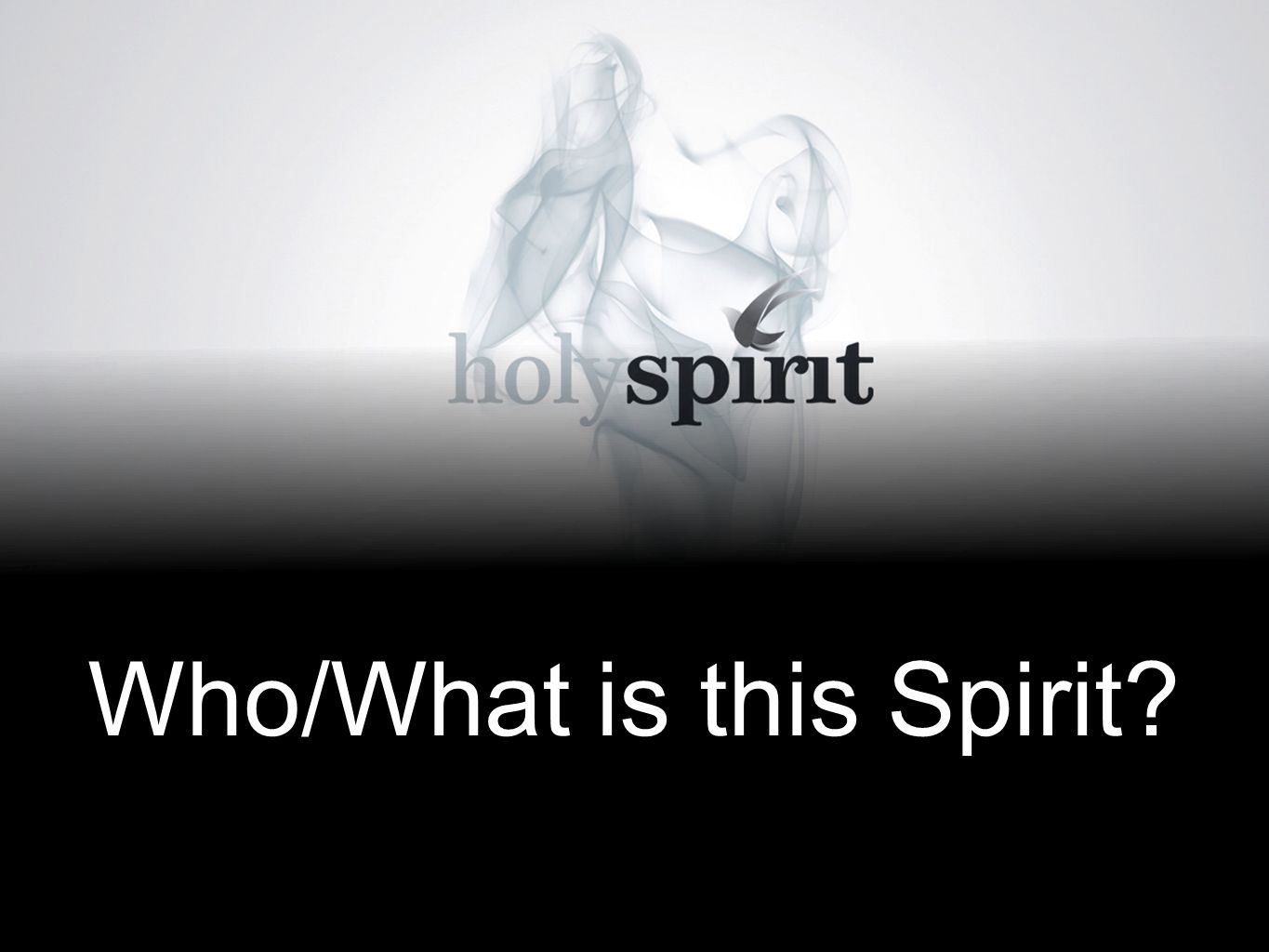 Who/What is this Spirit