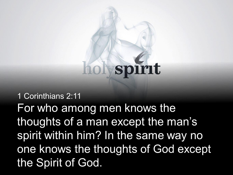 1 Corinthians 2:11