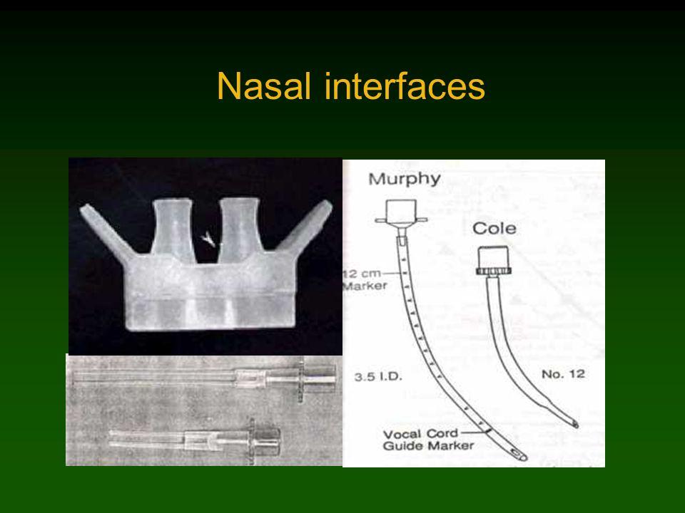 Nasal interfaces