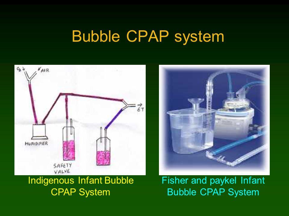 Bubble CPAP system Indigenous Infant Bubble CPAP System