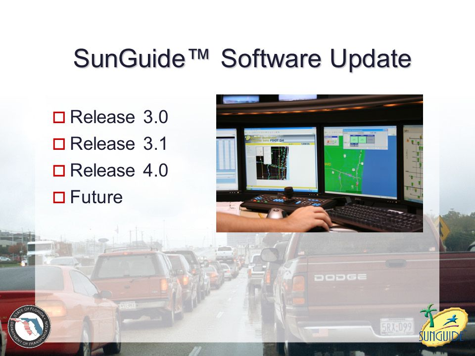 SunGuide™ Software Update