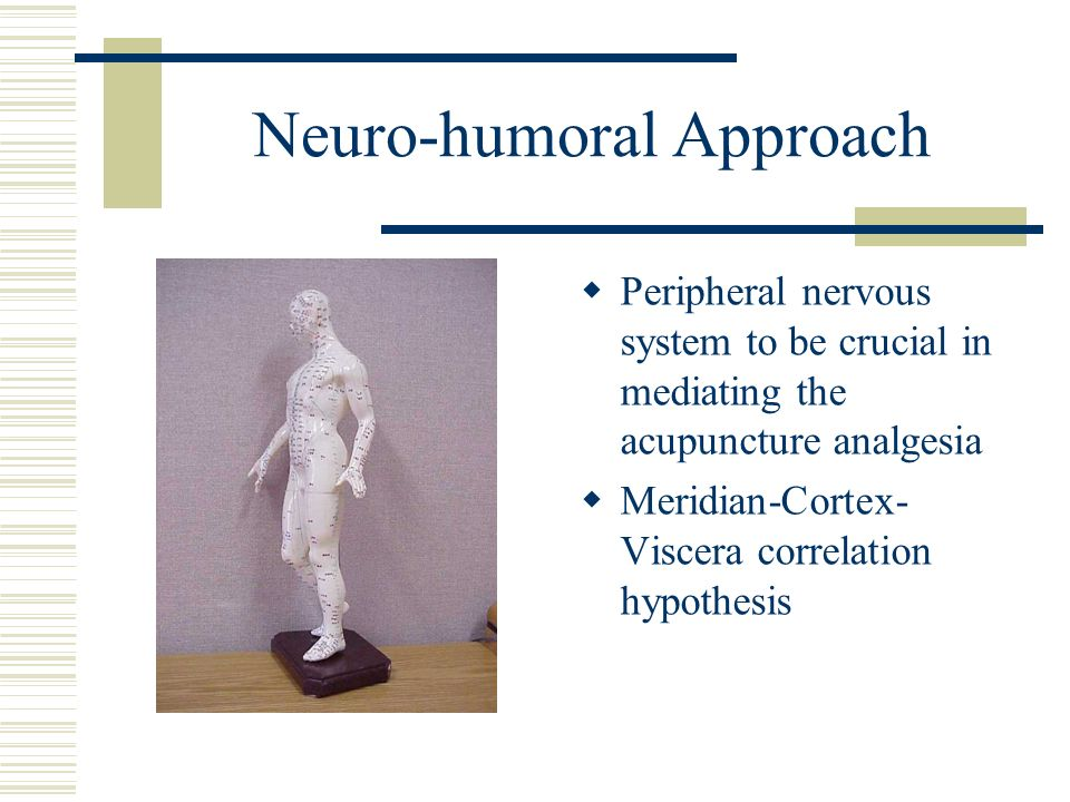Neuro-humoral Approach