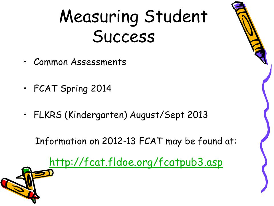 Measuring Student Success